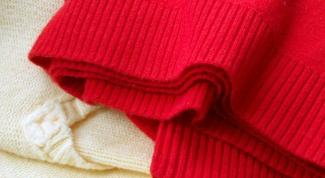 Зимние аксессуары из старого свитера