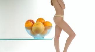 Антицеллюлитная диета: принципы питания