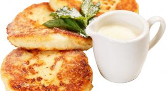 Как приготовить сырники без муки