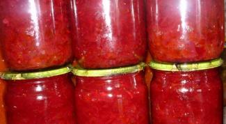 Как приготовить свекольный салат «Аленка» на зиму