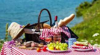 5 обязательных составляющих корзинки для пикника