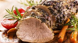 Как готовить духовую телятину