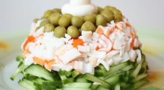 Рецепты салатов с зеленым горошком