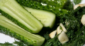 Cook at home. Pickled cucumbers