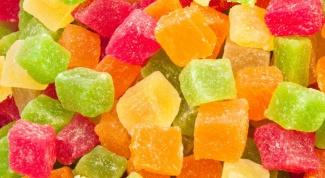 Как сделать домашние цукаты