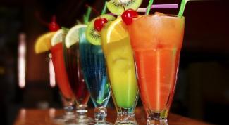 Коктейль-прием, какие напитки подавать