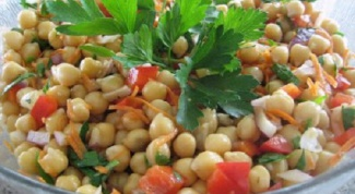 Готовим салат с нутом