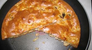 Пушистый пирог из рыбной консервы