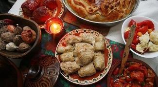 Что можно есть в Рождественский пост