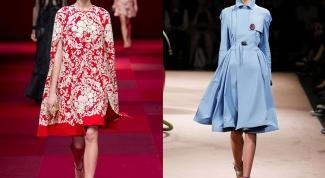 Весна-лето 2015: какие плащи будут в моде