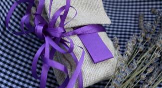 Сушеная лаванда: саше из трав своими руками