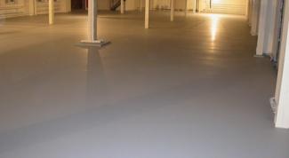Половая краска для бетонных поверхностей