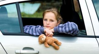 Как избежать укачивания у  ребенка