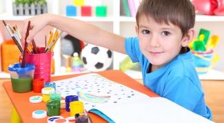 Рисование способствует развитию ребенка