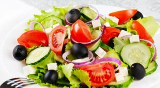 Как приготовить греческий салат или традиционный салат по-деревенски
