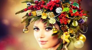 Секреты новогоднего макияжа