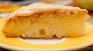 Manna on kefir without flour: recipe