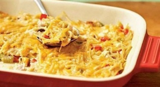 Запеканка из макарон - просто и вкусно