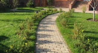 Садовые дорожки по фэншуй