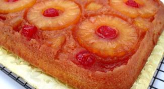 Пирог-перевертыш: американский десерт