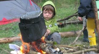 Что должен уметь делать ребенок пяти, шести лет в городе и за городом