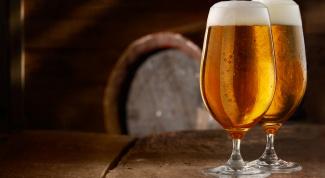 Как правильно пить пиво лагер