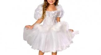 Как украсить платье на Новый год для девочки своими руками