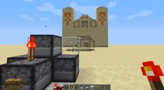 How to make a gun in Minecraft: for assistance in creating