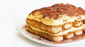 Десерт тирамису - классический