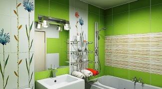 Маленькая ванная и стильный дизайн