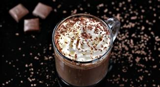 Как приготовить ароматный горячий шоколад