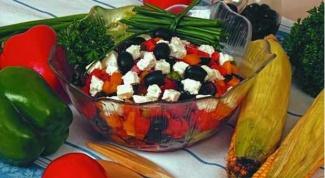Афинский салат