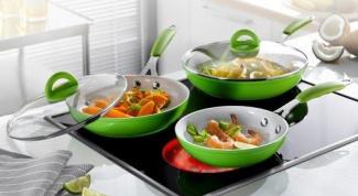 Уход  за керамическими сковородками