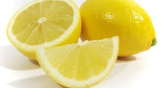 Лимонная маска-скраб для рук