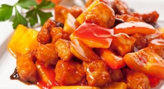 Как приготовить свинину под пикантным соусом