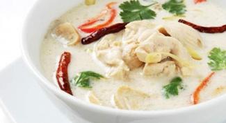 """Кокосовый суп """"по-азиатски"""""""