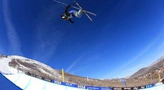 Что такое ски-хафпайп в фристайле