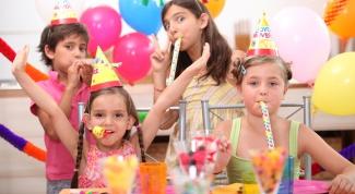 Как приготовить блюда для детской вечеринки