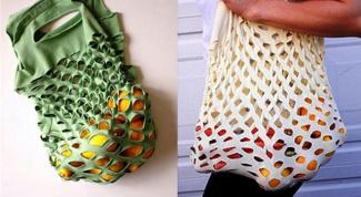 Как сделать сумку-авоську