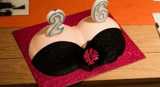 Как сделать торт в форме женской груди