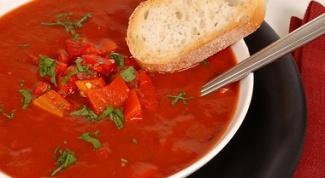 Как приготовить голландский томатный суп