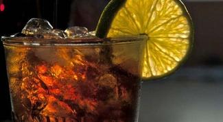 Как приготовить коктейли с колой