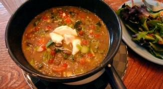 "Индийский суп ""Дхал"""
