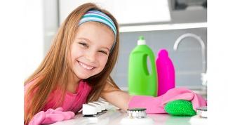 Как приучить ребенка к помощи по дому?