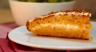 Морковный торт по-швейцарски