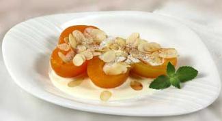 Как приготовить абрикосы с ванильным кремом