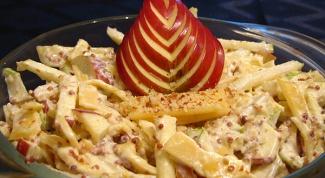 Как приготовить бранденбургский сырный салат с грушей