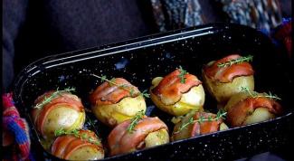 Раклетт-картофель с тирольским шпиком