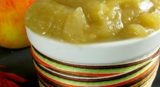 Как приготовить яблочное пюре  для ребенка
