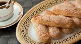 Воздушное бисквитное печенье
